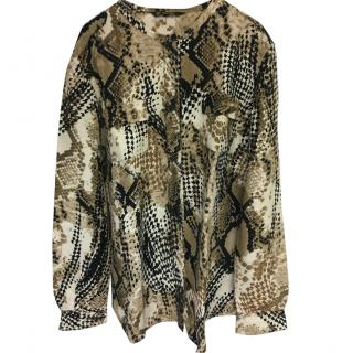 Loro Piana Animal print shirt