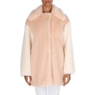 Stella McCartney Wren Faux Fur Coat