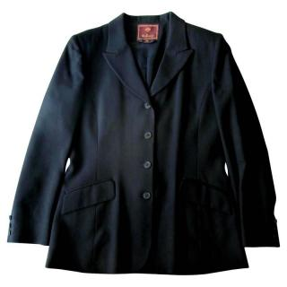 Mulberry Black Wool Jacket