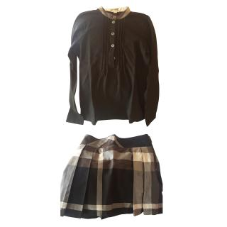 Burberry Girls Skirt and Top