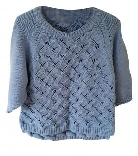 Raoul Blue Cotton Jumper