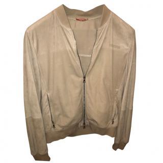 Prada Men's Bomber Zip Jacket