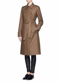 Theory Ashling Padded Trench Coat