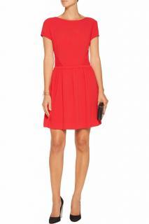 Maje Crimson Mini Dress