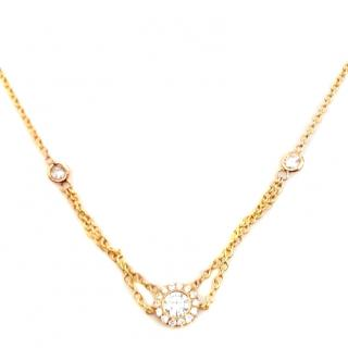 Forevermark Flawless Diamond Halo Necklace