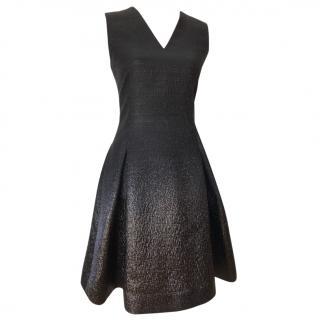 Fendi metallic effect dress