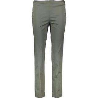 Brunello Cucinelli cotton blend slim trousers