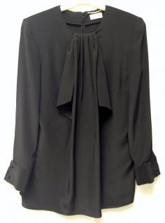 Saint Laurent silk tunic blouse