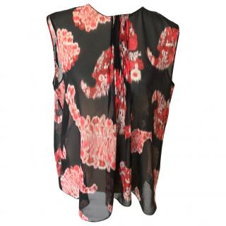 Giambattista Valli floral silk top