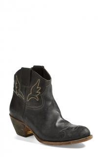Golden Goose deluxe brand 'Sidney' black cowboy boots