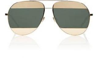 Dior Split 1 Aviator Sunglasses Rose Gold /Grey