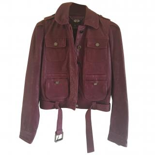 Mulberry Leather Jacket