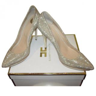 Elizabeth Franchi Sparkly Shoes EU 38/UK 5