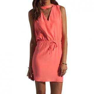 Parker grapefruit dress