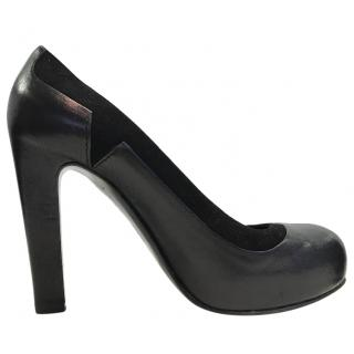 Bally Black Platform Pumps