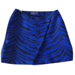 Emanuel Ungaro Animal Print Mini Skirt