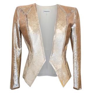 Emilio Pucci Gold Sequinned Blazer