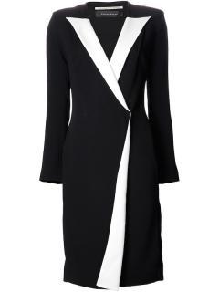 Roland Mouret Black White Coat Dress Auriga �1,560