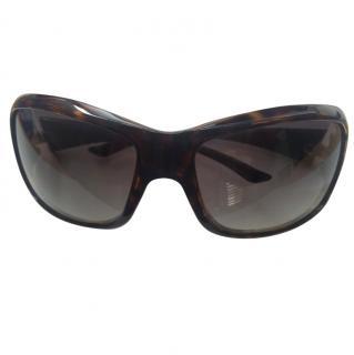 Christian Dior brown sunglasses VGC