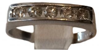 18k White Gold & Diamond Ring