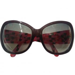 D&G Dolce Gabbana Crystal Sunglasses