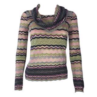 M Missoni Zig Zag Sweater