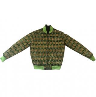 Givenchy Rare Persian print bomber jacket