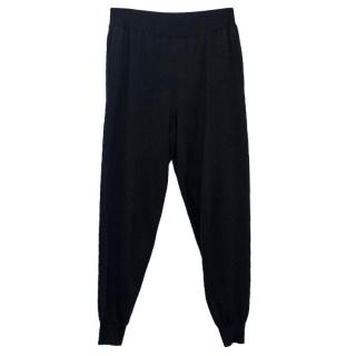 Stella McCartney Black Loose Fitting Joggers