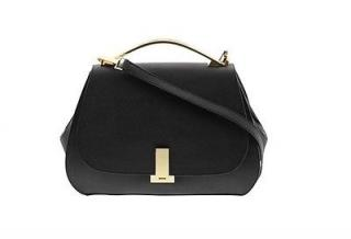 Zac Posen black leather satchel