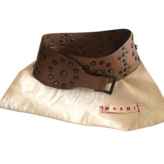 Marni Studded Belt