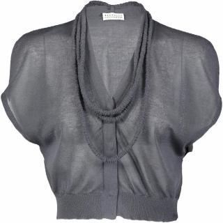 Brunello Cucinelli cotton cropped cardigan