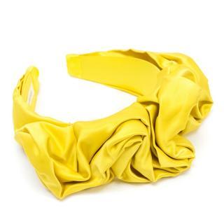 Jennifer Behr Stella Yellow Headband