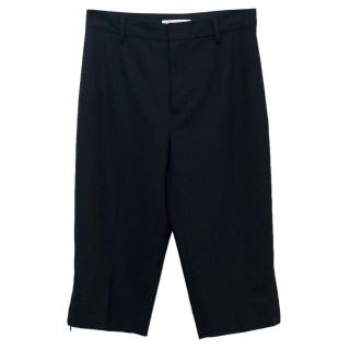 Dolce and Gabbana Cropped Black Trousers