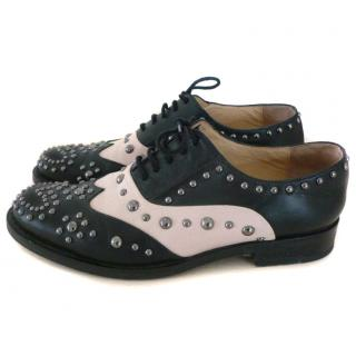 Moschino Cheap & Chic Studded Oxford Brogues