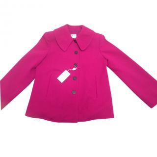 Armani Collezioni Pink Pea Jacket