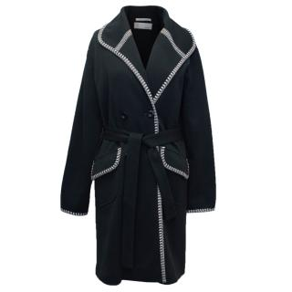 Missoni Black Double-Breasted Coat