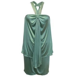 Versace Mint Green Top and Skirt Set