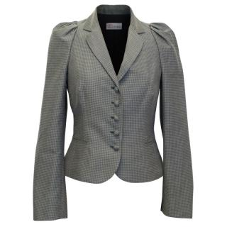 Red Valentino Grey Patterned Jacket
