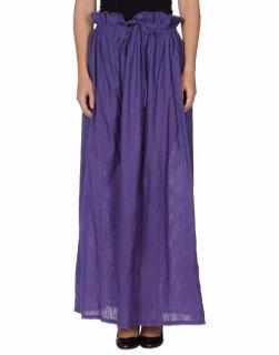 Fendi long purple skirt