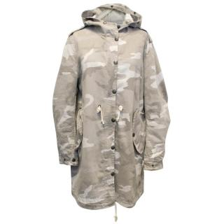 Mauro Guerresco Hooded Camouflage Parka