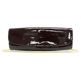 Gina Brown Patent Leather Clutch