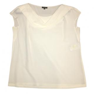 Escada Cream Blouse