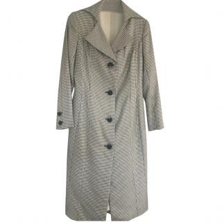 Catherine Walker Black and White Coat