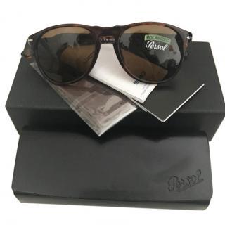 Persol 9649-s Havana Tortoiseshell Polarised Sunglasses