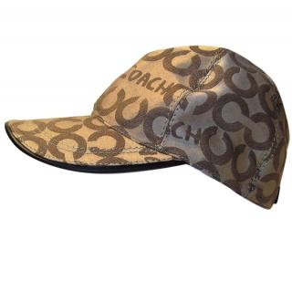 Coach Baseball Cap Signature Design