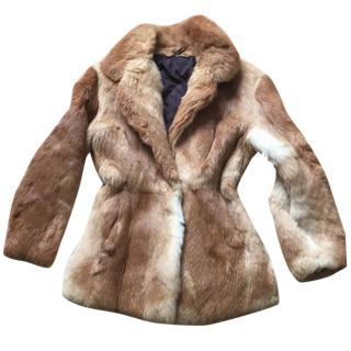Vintage 70s fox  Fur coat
