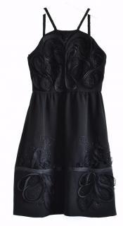 Fendi black cocktail dress