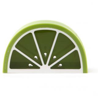 Charlotte Olympia Lime Perspex clutch