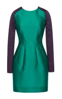 Antonio Berardi Silk Scuba Runway Dress