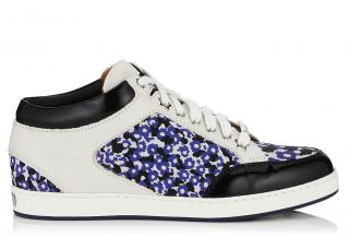 Jimmy Choo Miami Floral Leather Trainers